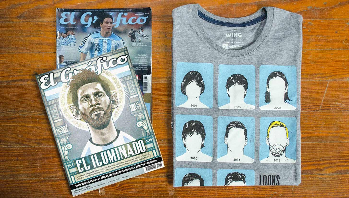 wing messi