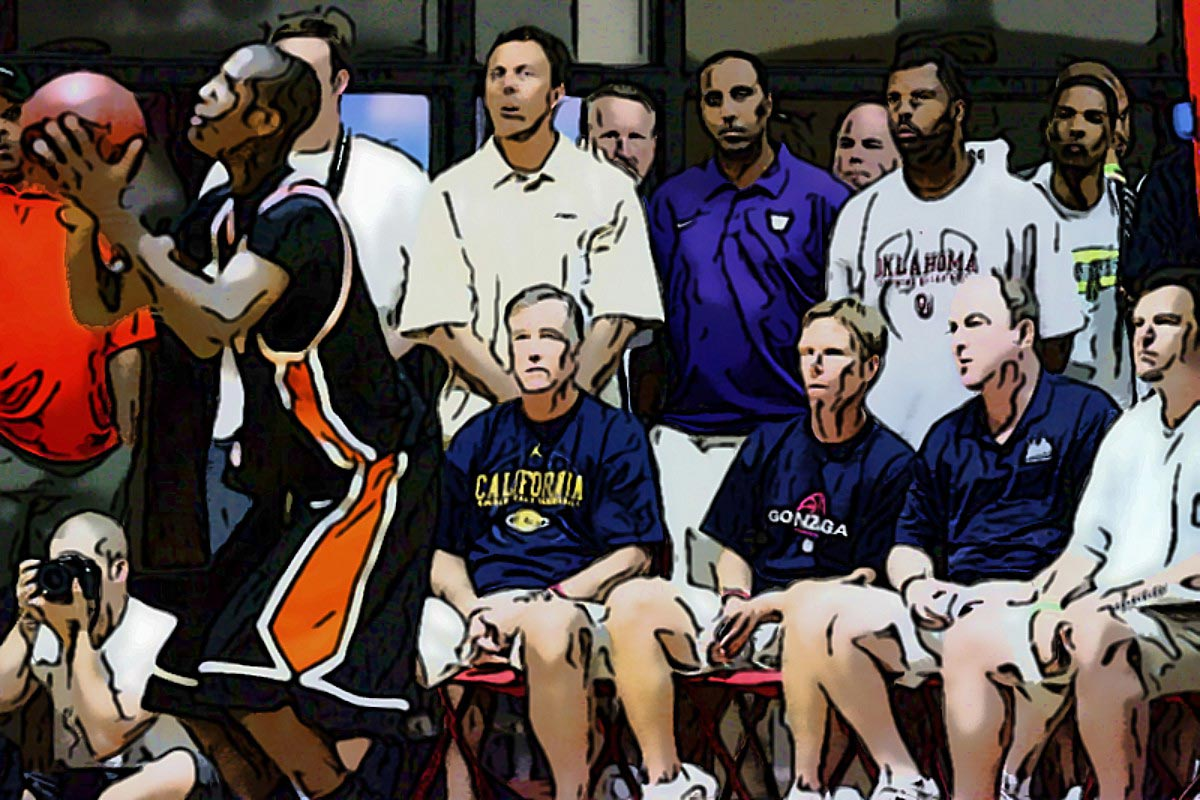 AAU basketball scouts