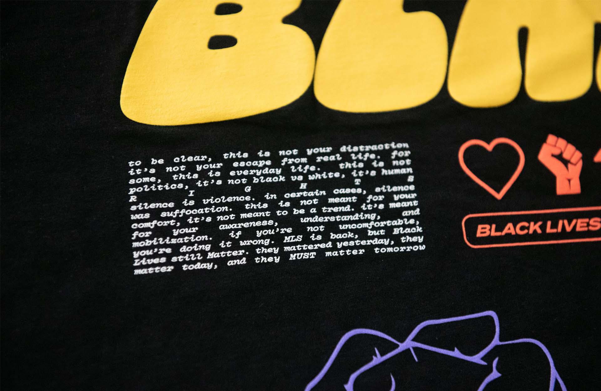 mls blm t shirt