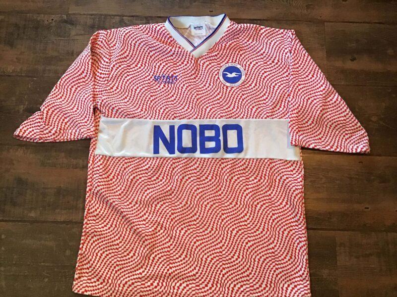 brighton hove and albion 1989 kit