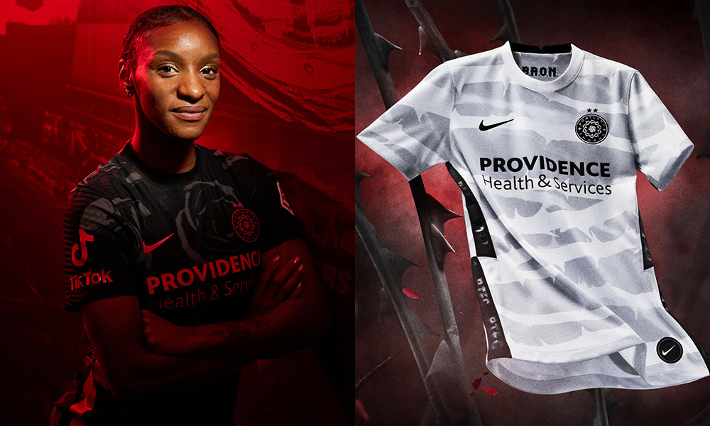 portland thorns 2021 kits