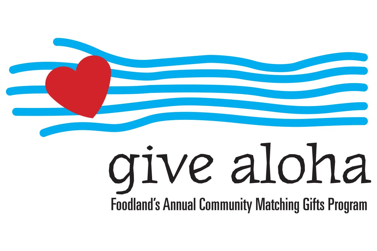 Foodland Give Aloha Campaign Logo