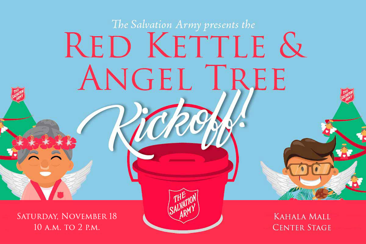 Hawaiian And Pacific Islands Division Red Kettle Angel Tree Kickoff