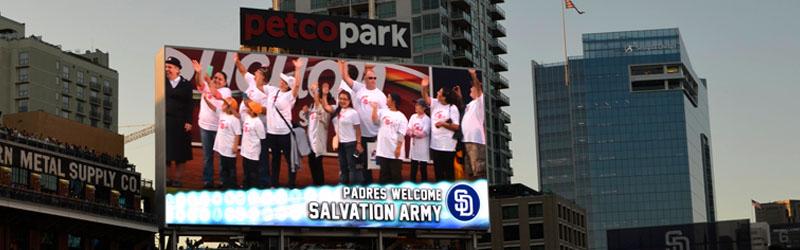 Salvation Army Night at Petco Park Image