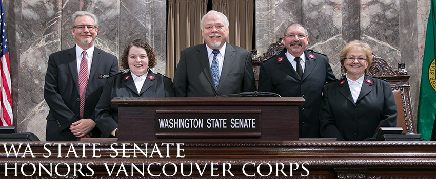 Washington State Senate Honors Vancouver Corps