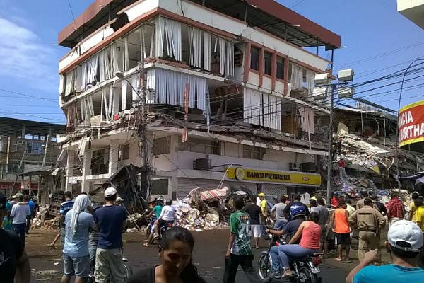 Latest on Ecuador Earthquake