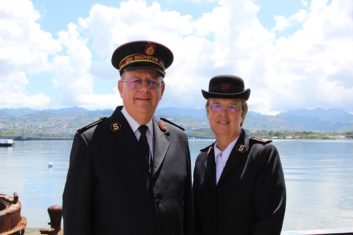 The Salvation Army General Cox visits Hawaii