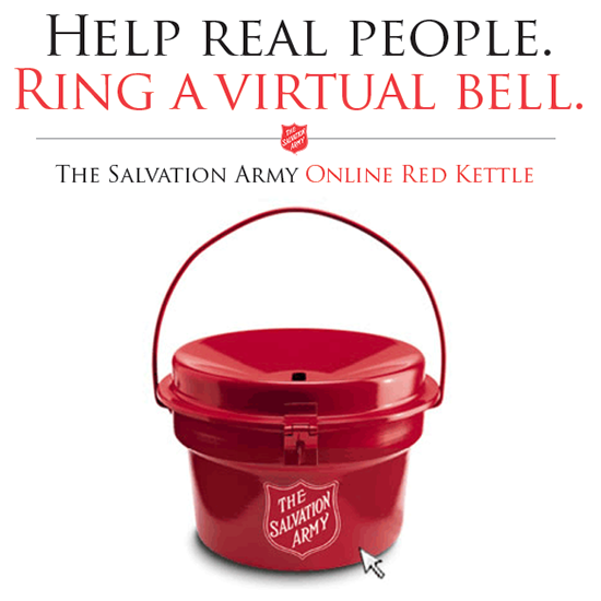 #RedKettleReason Campaign