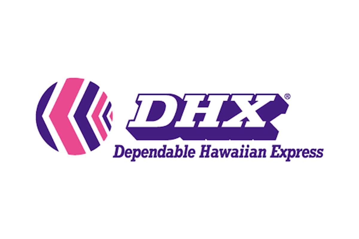 DHX dependable hawaiian express logo