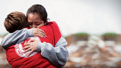 Disasters of incredible magnitude call for people of incredible generosity.