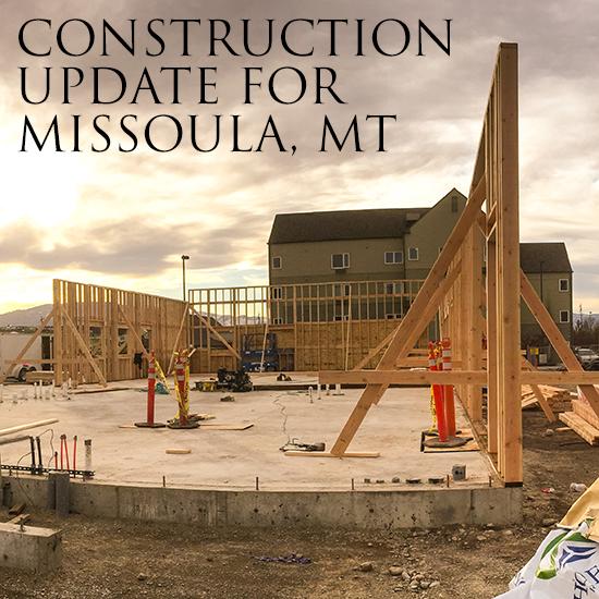 Construction Underway In Missoula, MT
