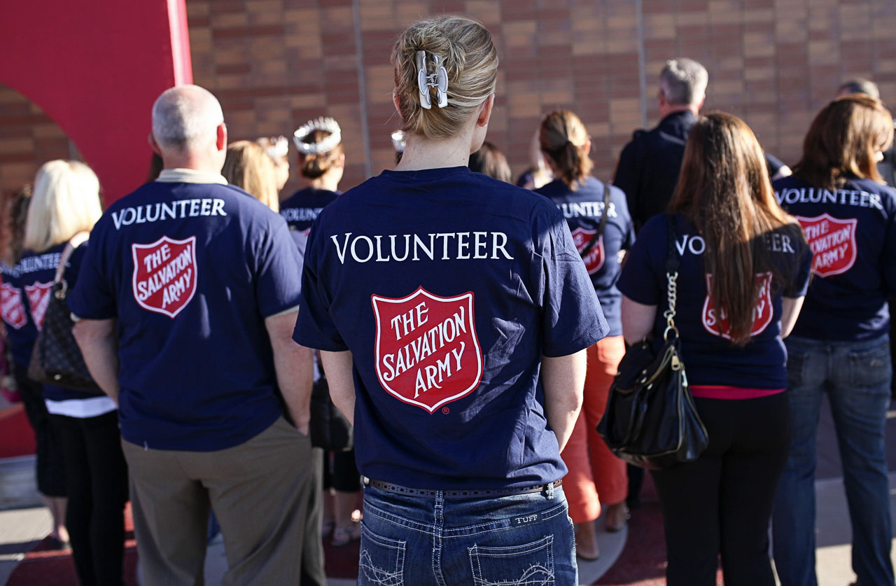 The Salvation Army Nampa Advisory Board Serves