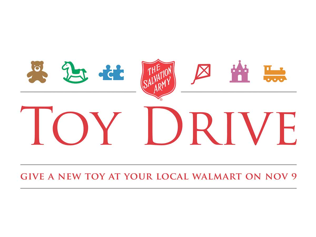 walmart salvation army toy drive
