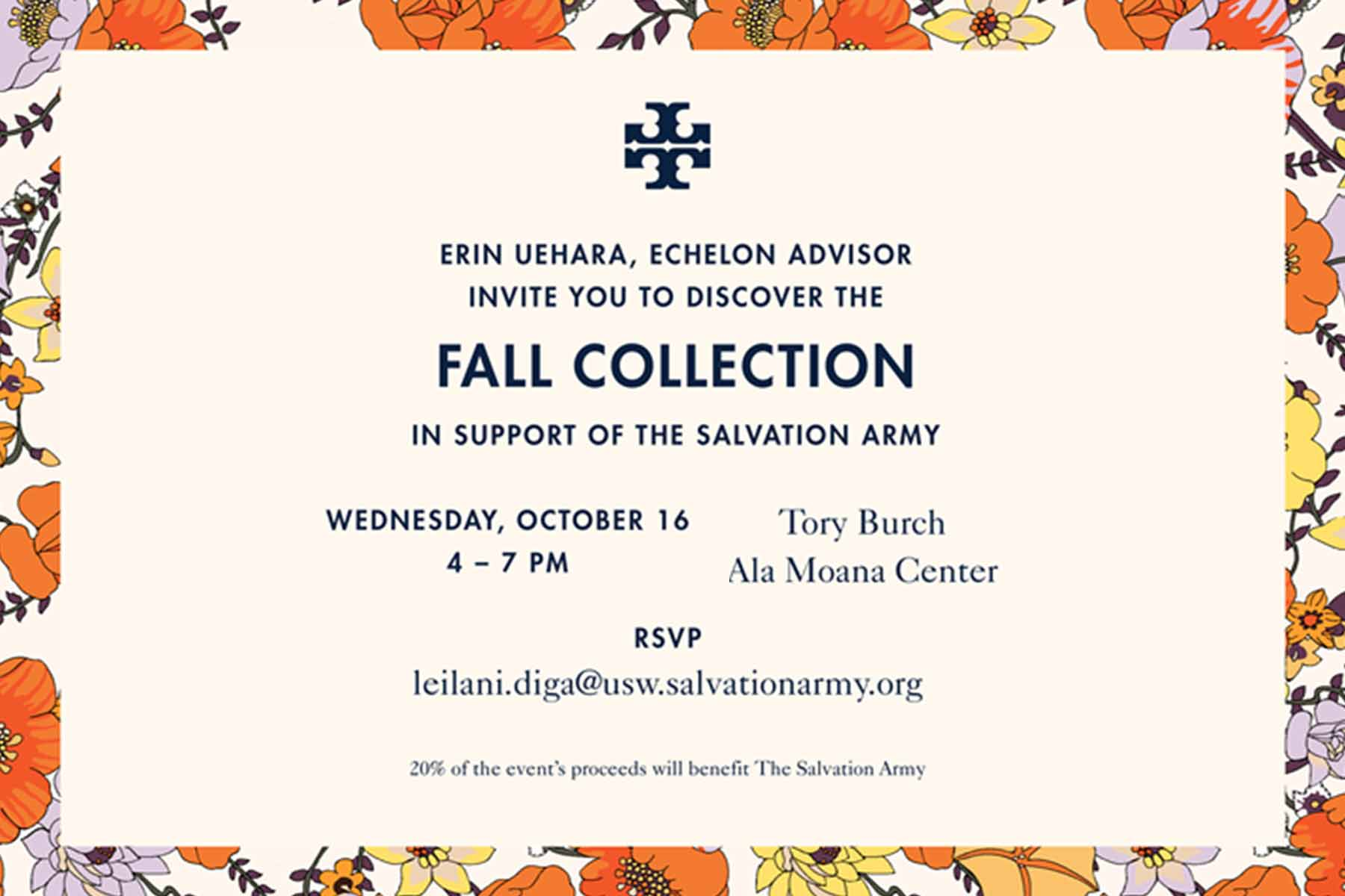 Tory Burch Salvation Army