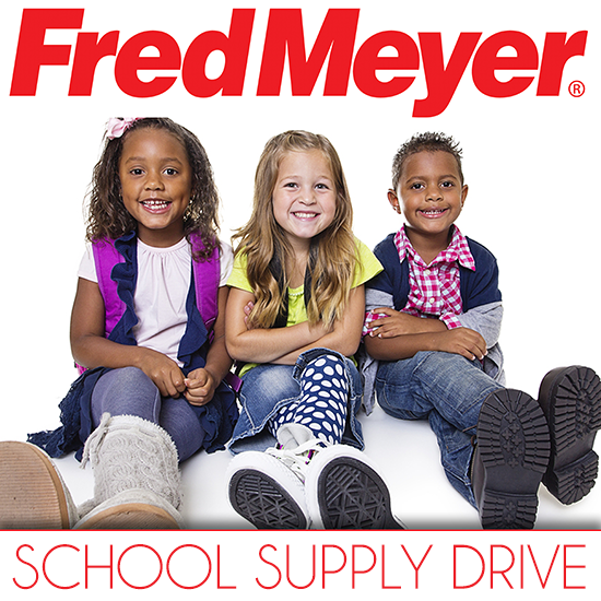 Fred Meyer Back To School Supply Drive
