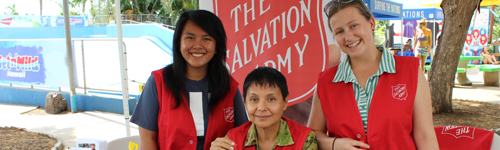 sign up to volunteer for the salvation army