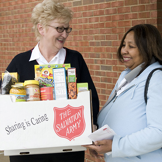 Social Services at The Salvation Army in Lewiston, ID - January 2016