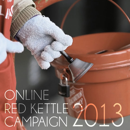 Online Red Kettle Campaign 2013