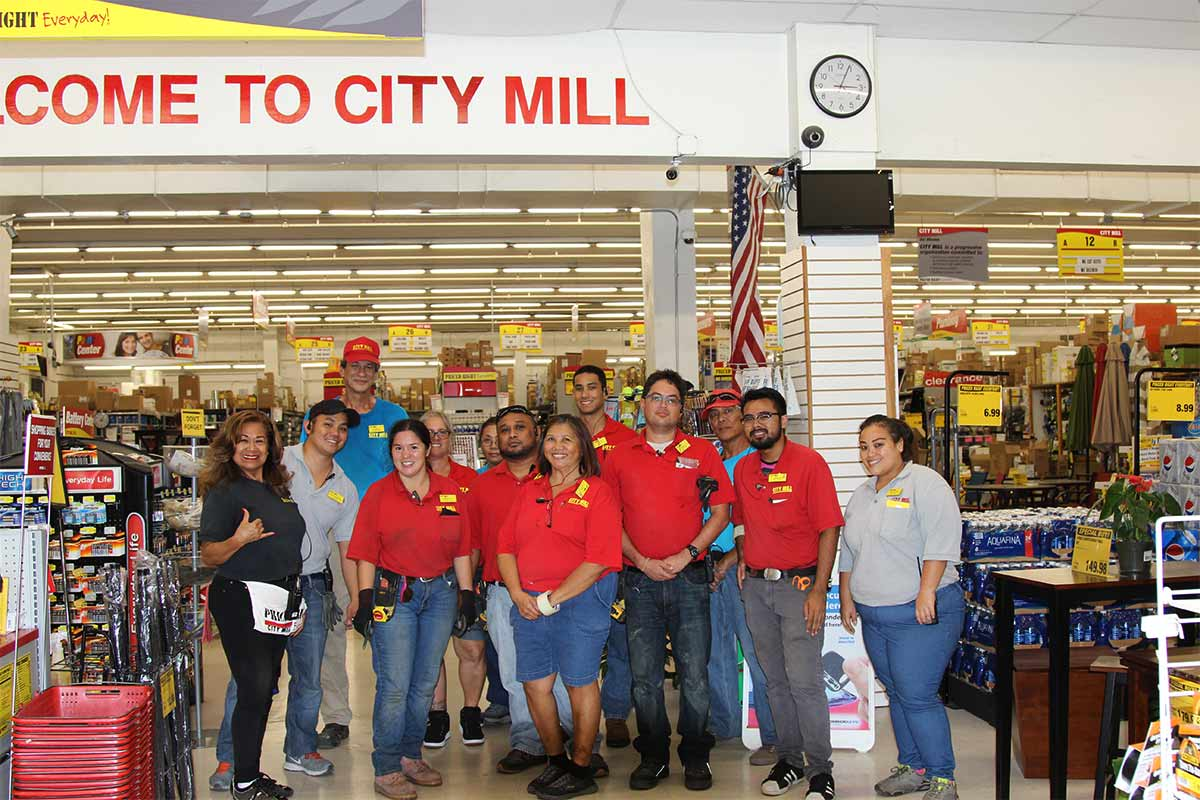 City Mill staff group photo