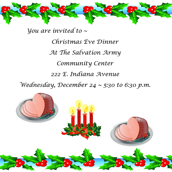 Christmas Eve Dinner 2014