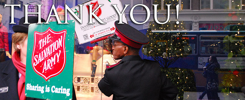 2013 Red Kettle Campaign Results