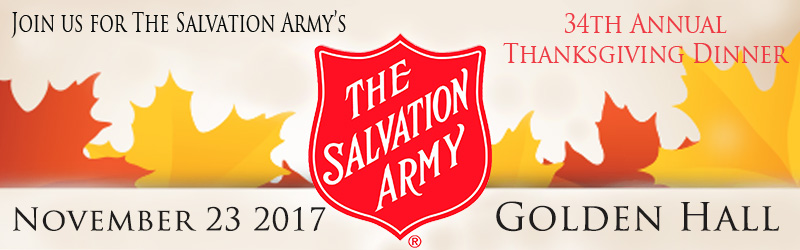 Salvation Army's 34th Annual Thanksgiving Dinner Image