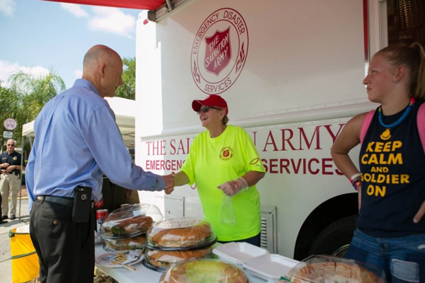 Salvation Army Expands Services to Families & Responders of Orlando Tragedy