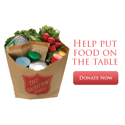 Food Bank Salvation Army Donations