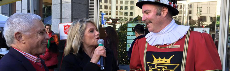 Celebrity Bell Ringing on Union Square Image