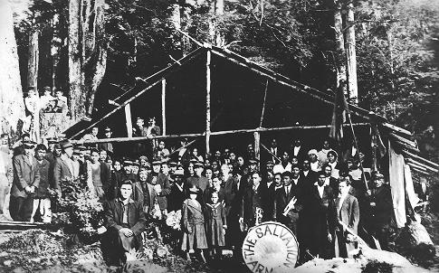 The Salvation Army Alaska - Kake Fish Camp, Circa 1930's
