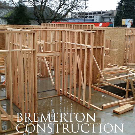 Construction Continues In Bremerton, WA
