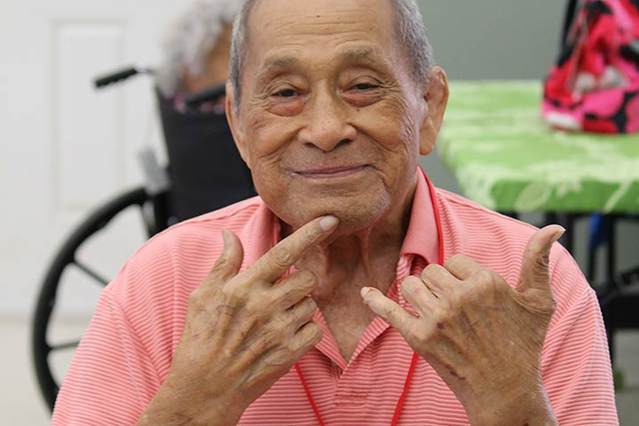 adult day health services client shaka