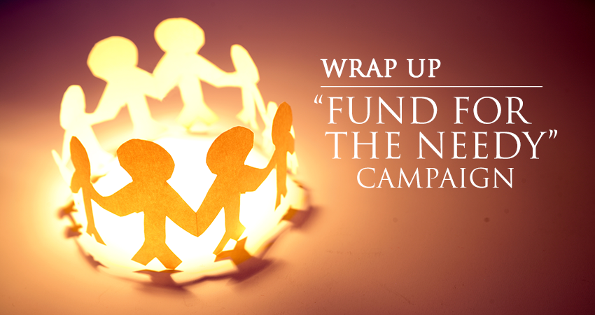 2015 Fund For The Needy Update