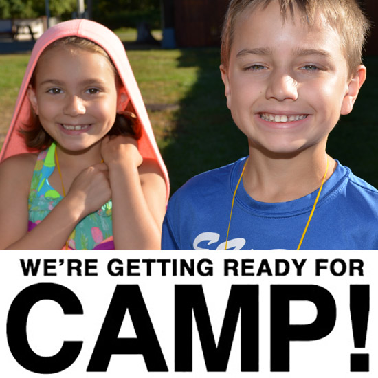We're Getting Ready for Summer Camp 2016