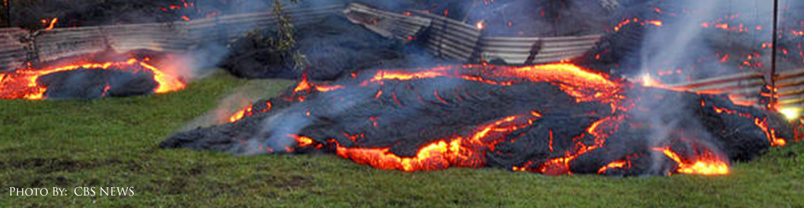 Lava Flow Disaster Response
