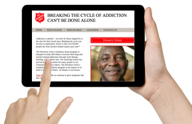 Sign up for Salvation Army updates today!