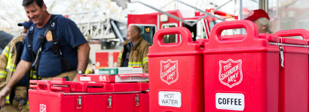 Salvation Army responding to California Wildfires.