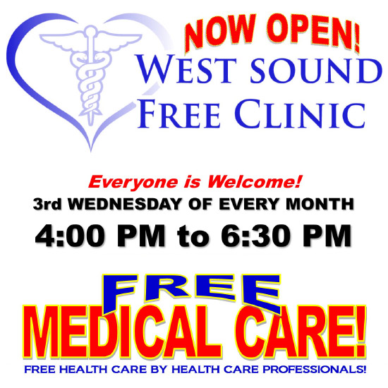 Free Medical Clinic Services at The Salvation Army in Bremerton - June 2016