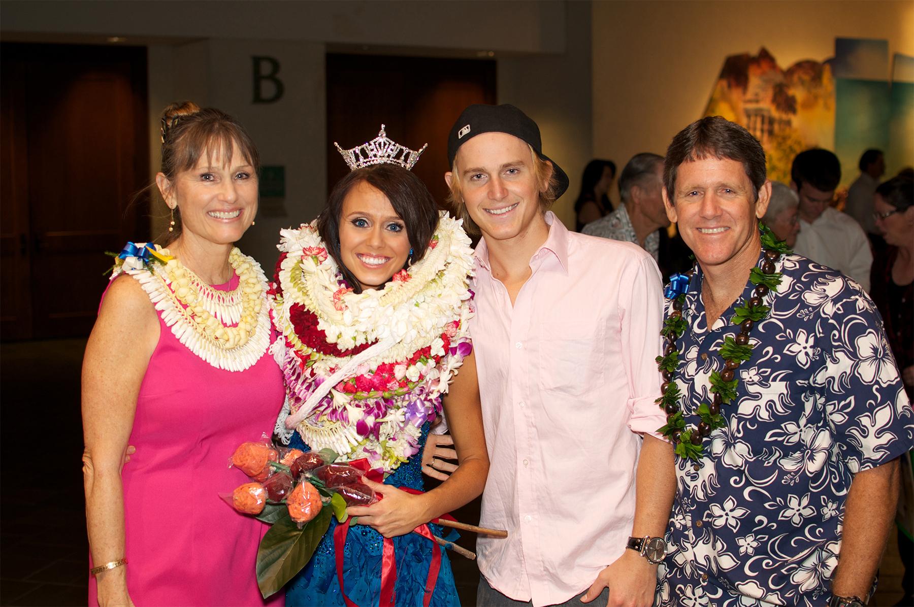 Lauren Matsumoto and family