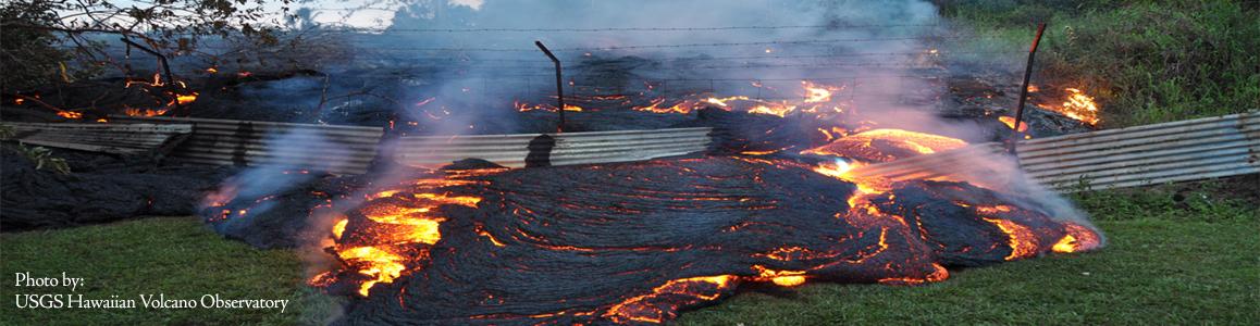 Lava Flow Disaster Response
