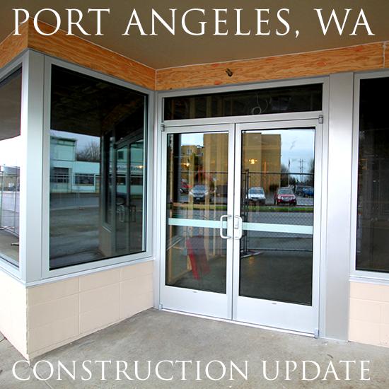 Construction Continues In Bremerton, WA