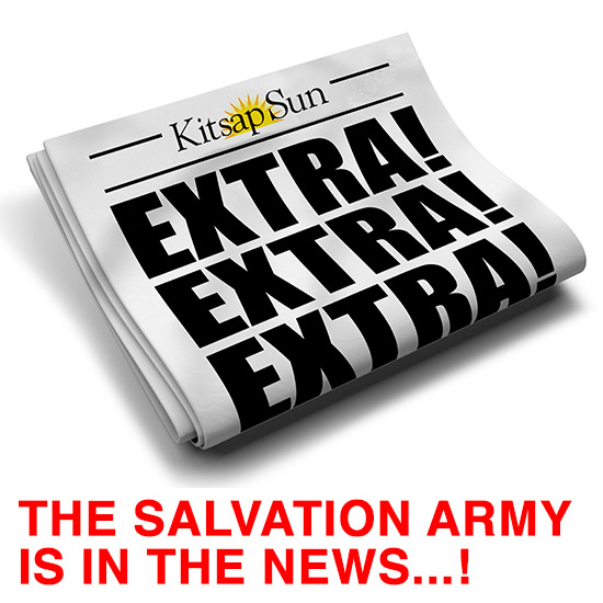 The Salvation Army Is In The News - Bremerton, WA - April 2016
