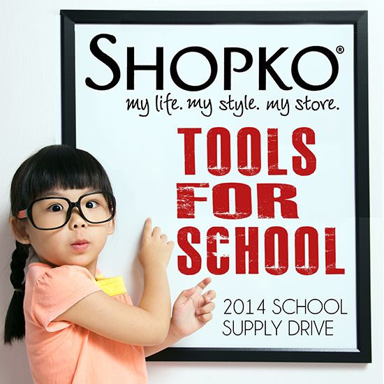 Shopko School Supply Drive