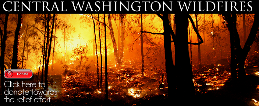 Central Washington Wildfires