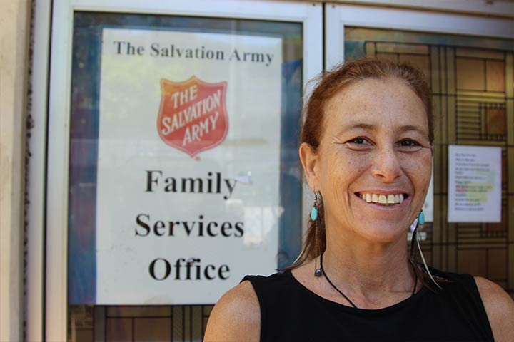 Isabella at The Salvation Army Family Services Office