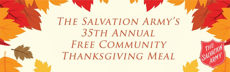 The Salvation Army's 35th Annual Thanksgiving Dinner Image