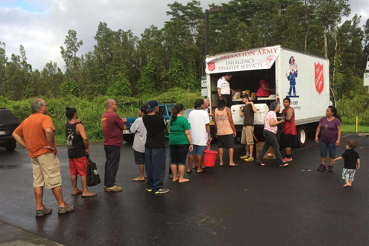 salvation army tropical storm iselle disaster relief