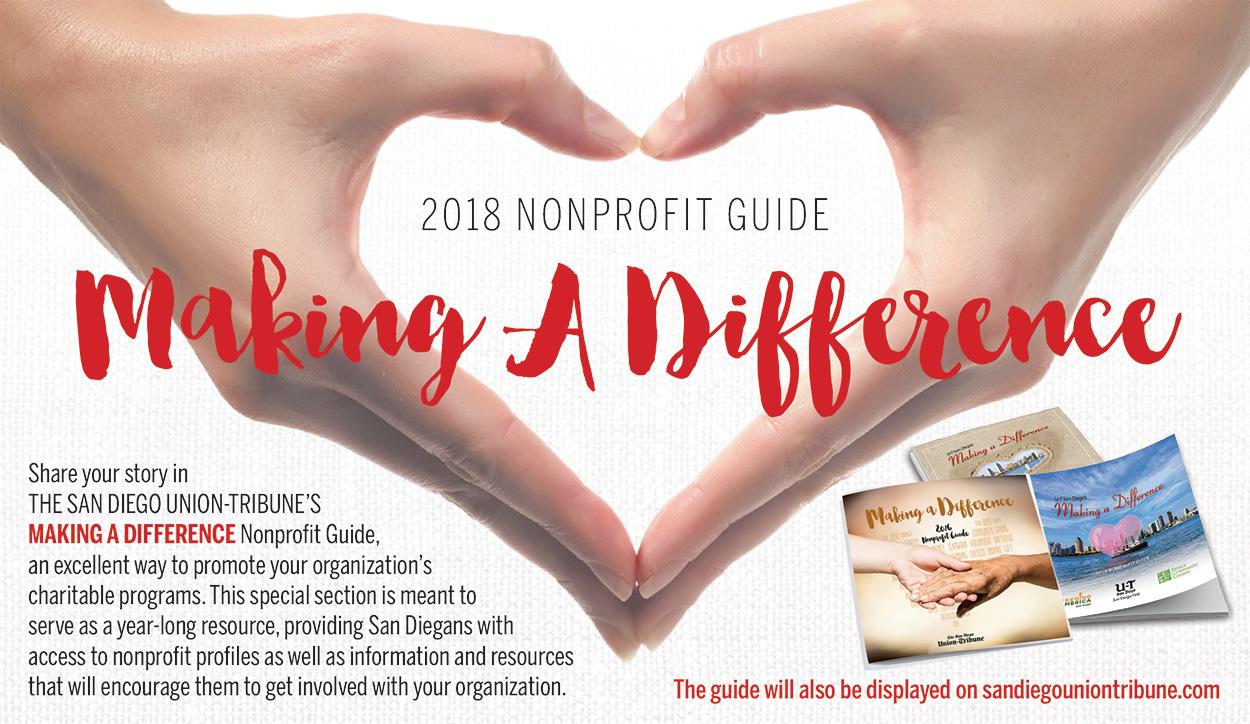 The San Diego Union-Tribune 2017 Non Profit Guide