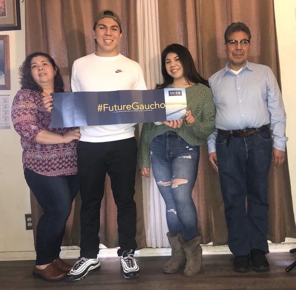 Oscar Hernandez YCLP College Acceptance