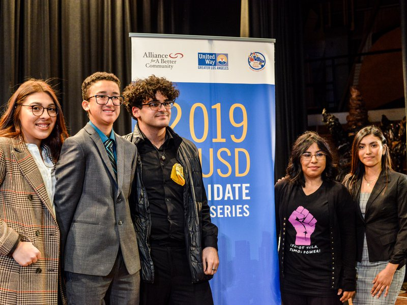 Students get involved with elected LAUSD officials and their education